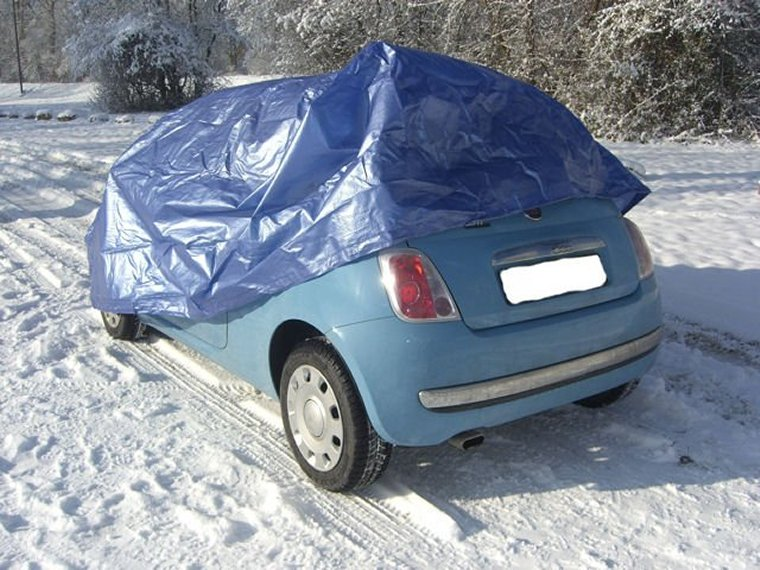 auto garage pelerine vollgarage carcover ganzgarage 1 f r fiat 500 ebay. Black Bedroom Furniture Sets. Home Design Ideas