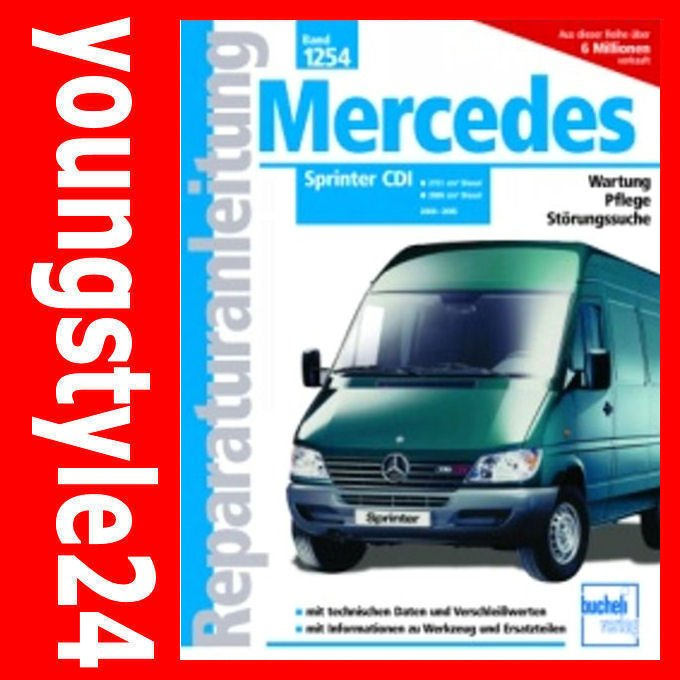 mercedes sprinter 312d workshop manual